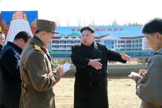 150306 - SK - KIM JONG UN - Marschall KIM JONG UN besichtigte die Baustelle des Altersheims der Stadt Pyongyang - 03 - 경애하는 김정은동지께서 평양시양로원건설장을 현지지도하시였다