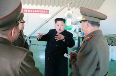 150324 - RS - KIM JONG UN - 06 - 경애하는 김정은동지께서 인민군대에서 새로 건설한 어분사료공장을 현지지도하시였다