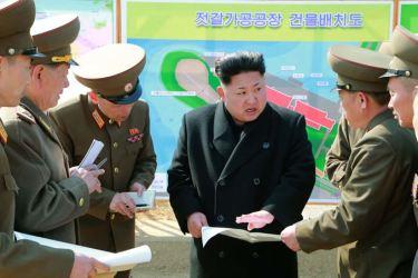 150327 - SK - KIM JONG UN - Marschall KIM JONG UN besichtigte den Bauplatz einer Fischverarbeitungsbasis - 09 - 경애하는 김정은동지께서 금산포젓갈가공공장과 금산포수산사업소건설장을 현지지도하시였다
