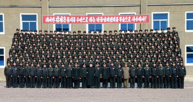 150404 - RS - KIM JONG UN - Marschall KIM JONG UN inspizierte die 164. Truppe der Marine der KVA - 02 - 조선인민군 최고사령관 김정은동지께서 조선인민군 해군 제164군부대를 시찰하시였다