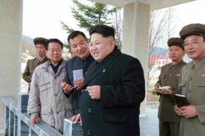 150420 - RS - KIM JONG UN - Marschall KIM JONG UN leitete die Bauarbeiten des Songun-Jugend-Kraftwerkes Paektusan - 07 - 경애하는 김정은동지께서 백두산선군청년발전소건설장을 현지지도하시였다