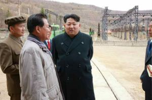 150420 - RS - KIM JONG UN - Marschall KIM JONG UN leitete die Bauarbeiten des Songun-Jugend-Kraftwerkes Paektusan - 08 - 경애하는 김정은동지께서 백두산선군청년발전소건설장을 현지지도하시였다