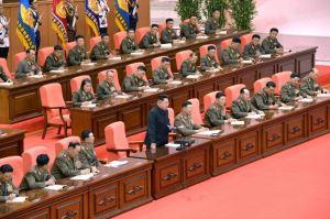 150426 - SK - KIM JONG UN - Marschall KIM JONG UN leitete die 5. Konferenz der Ausbildungsoffiziere der KVA - 05 - 경애하는 최고사령관 김정은동지의 지도밑에 조선인민군 제5차 훈련일군대회 성대히 진행