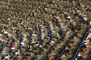 150426 - SK - KIM JONG UN - Marschall KIM JONG UN leitete die 5. Konferenz der Ausbildungsoffiziere der KVA - 20 - 경애하는 최고사령관 김정은동지의 지도밑에 조선인민군 제5차 훈련일군대회 성대히 진행