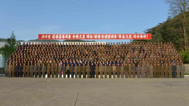 150507 - RS - KIM JONG UN - Marschall KIM JONG UN besuchte das Maschinenwerk Ryongsong - 10 - 경애하는 김정은동지께서 룡성기계련합기업소 2월11일공장을 현지지도하시였다