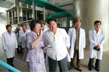 150606 - SK - KIM JONG UN - Marschall KIM JONG UN besichtigte das Institut für Biotechnik Pyongyang - 11 - 경애하는 김정은동지께서 조선인민군 제810군부대산하 평양생물기술연구원을 현지지도하시였다
