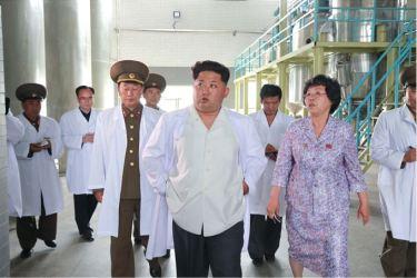 150606 - SK - KIM JONG UN - Marschall KIM JONG UN besichtigte das Institut für Biotechnik Pyongyang - 12 - 경애하는 김정은동지께서 조선인민군 제810군부대산하 평양생물기술연구원을 현지지도하시였다