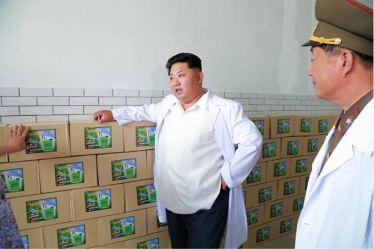 150606 - SK - KIM JONG UN - Marschall KIM JONG UN besichtigte das Institut für Biotechnik Pyongyang - 13 - 경애하는 김정은동지께서 조선인민군 제810군부대산하 평양생물기술연구원을 현지지도하시였다