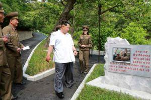 150609 - RS - KIM JONG UN - Marschall KIM JONG UN besuchte die Historische Gedenkstätte über den Vaterländischen Befreiungskrieg - 04 - 경애하는 김정은동지께서 조국해방전쟁사적지를 현지지도하시였다