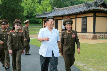 150609 - RS - KIM JONG UN - Marschall KIM JONG UN besuchte die Historische Gedenkstätte über den Vaterländischen Befreiungskrieg - 05 - 경애하는 김정은동지께서 조국해방전쟁사적지를 현지지도하시였다
