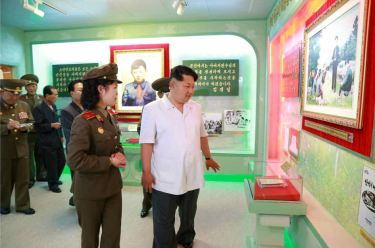 150609 - RS - KIM JONG UN - Marschall KIM JONG UN besuchte die Historische Gedenkstätte über den Vaterländischen Befreiungskrieg - 13 - 경애하는 김정은동지께서 조국해방전쟁사적지를 현지지도하시였다