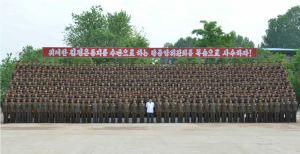 150613 - RS - KIM JONG UN - Marschall KIM JONG UN inspizierte die Flakartillerieoffizierschule - 02 - 조선인민군 최고사령관 김정은동지께서 고사포병군관학교를 시찰하시였다