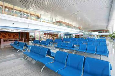 150625 - RS - KIM JONG UN - Marschall KIM JONG UN besichtigte den fertiggestellten Terminal des Internationalen Flughafens Pyongyang - 33 - 경애하는 김정은동지께서 완공된 평양국제비행장 항공역사를 현지지도하시였다