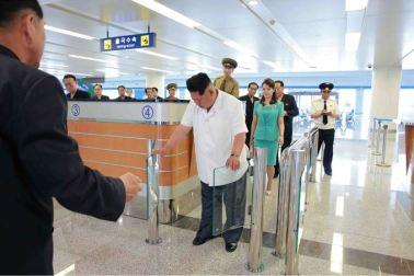 150625 - SK - KIM JONG UN - Marschall KIM JONG UN besichtigte den fertiggestellten Terminal des Internationalen Flughafens Pyongyang - 10 - 경애하는 김정은동지께서 완공된 평양국제비행장 항공역사를 현지지도하시였다