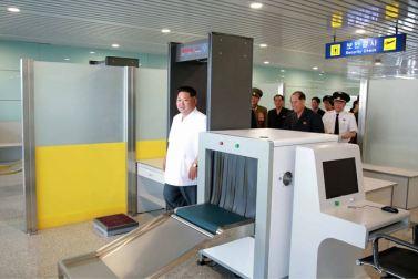 150625 - SK - KIM JONG UN - Marschall KIM JONG UN besichtigte den fertiggestellten Terminal des Internationalen Flughafens Pyongyang - 11 - 경애하는 김정은동지께서 완공된 평양국제비행장 항공역사를 현지지도하시였다