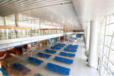 150625 - SK - KIM JONG UN - Marschall KIM JONG UN besichtigte den fertiggestellten Terminal des Internationalen Flughafens Pyongyang - 13 - 경애하는 김정은동지께서 완공된 평양국제비행장 항공역사를 현지지도하시였다