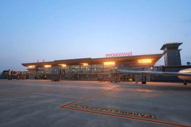 150625 - SK - KIM JONG UN - Marschall KIM JONG UN besichtigte den fertiggestellten Terminal des Internationalen Flughafens Pyongyang - 30 - 경애하는 김정은동지께서 완공된 평양국제비행장 항공역사를 현지지도하시였다