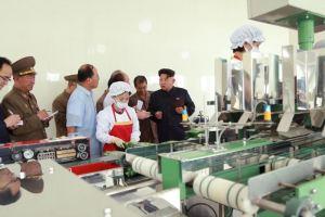 150711 - SK - KIM JONG UN - Marschall KIM JONG UN besichtigte die Verarbeitungsfabrik für Seetang Taegyong in Pyongyang - 07 - 경애하는 김정은동지께서 평양대경김가공공장을 현지지도하시였다