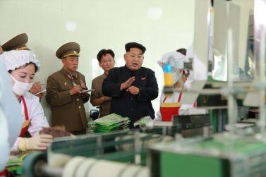 150711 - SK - KIM JONG UN - Marschall KIM JONG UN besichtigte die Verarbeitungsfabrik für Seetang Taegyong in Pyongyang - 09 - 경애하는 김정은동지께서 평양대경김가공공장을 현지지도하시였다