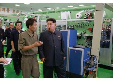 150714 - RS - Marschall KIM JONG UN besuchte die Toilettenartikelfabrik Ragnang - 08 - 경애하는 김정은동지께서 락랑위생용품공장을 현지지도하시였다