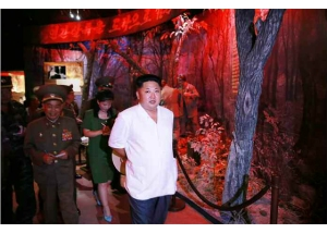 150723 - RS - KIM JONG UN - Marschall KIM JONG UN besuchte das neu gebaute Museum Sinchon - 06 - 경애하는 김정은동지께서 새로 건설한 신천박물관을 현지지도하시였다