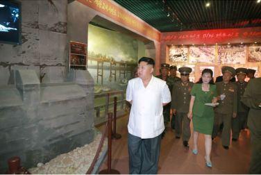 150723 - SK - KIM JONG UN - Marschall KIM JONG UN besuchte das neu gebaute Museum Sinchon - 08 - 경애하는 김정은동지께서 새로 건설한 신천박물관을 현지지도하시였다