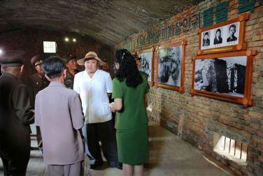 150723 - SK - KIM JONG UN - Marschall KIM JONG UN besuchte das neu gebaute Museum Sinchon - 12 - 경애하는 김정은동지께서 새로 건설한 신천박물관을 현지지도하시였다