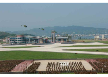 150730 - RS - KIM JONG UN - 08 - 경애하는 김정은동지께서 위대한 조국해방전쟁승리 62돐을 맞으며 진행된 《조선인민군 항공 및 반항공군 비행지휘성원들의 전투비행술경기대회-2015》를 지도하시였다