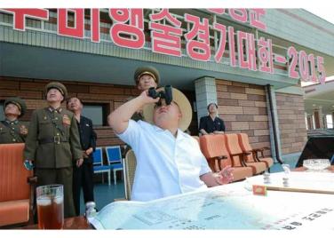 150730 - RS - KIM JONG UN - 09 - 경애하는 김정은동지께서 위대한 조국해방전쟁승리 62돐을 맞으며 진행된 《조선인민군 항공 및 반항공군 비행지휘성원들의 전투비행술경기대회-2015》를 지도하시였다