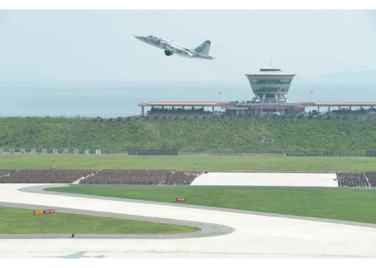 150730 - RS - KIM JONG UN - 11 - 경애하는 김정은동지께서 위대한 조국해방전쟁승리 62돐을 맞으며 진행된 《조선인민군 항공 및 반항공군 비행지휘성원들의 전투비행술경기대회-2015》를 지도하시였다