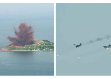 150730 - RS - KIM JONG UN - 20 - 경애하는 김정은동지께서 위대한 조국해방전쟁승리 62돐을 맞으며 진행된 《조선인민군 항공 및 반항공군 비행지휘성원들의 전투비행술경기대회-2015》를 지도하시였다