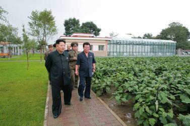150802 - SK - KIM JONG UN - Marschall KIM JONG UN besichtigte das neu errichtete Altersheim Pyongyang - 12 - 경애하는 김정은동지께서 새로 건설한 평양양로원을 현지지도하시였다