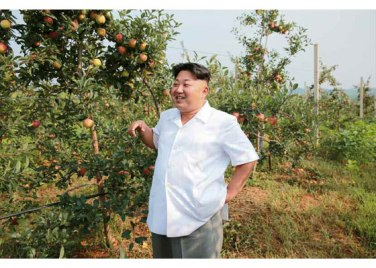 150818 - RS - KIM JONG UN - Marschall KIM JONG UN besuchte das Obstbaukombinat Taedonggang - 04 - 경애하는 김정은동지께서 대동강과수종합농장을 현지지도하시였다