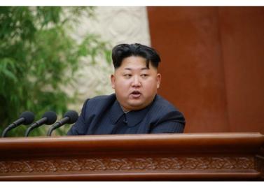 150828 - RS - KIM JONG UN - Marschall KIM JONG UN leitete die erweiterte Sitzung der Zentralen Militärkommission der PdAK - 01 - 조선로동당 제1비서이시며 조선로동당 중앙군사위원회 위원장이신 경애하는 김정은동지의 지도밑에 조선로동당 중앙군사위원회 확대회의가 진행되였다