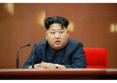 150828 - RS - KIM JONG UN - Marschall KIM JONG UN leitete die erweiterte Sitzung der Zentralen Militärkommission der PdAK - 03 - 조선로동당 제1비서이시며 조선로동당 중앙군사위원회 위원장이신 경애하는 김정은동지의 지도밑에 조선로동당 중앙군사위원회 확대회의가 진행되였다