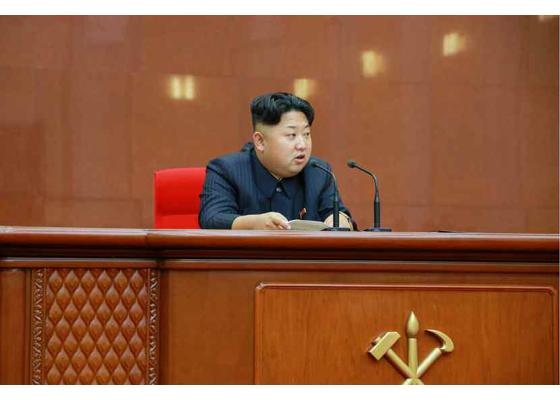 150828 - RS - KIM JONG UN - Marschall KIM JONG UN leitete die erweiterte Sitzung der Zentralen Militärkommission der PdAK - 08 - 조선로동당 제1비서이시며 조선로동당 중앙군사위원회 위원장이신 경애하는 김정은동지의 지도밑에 조선로동당 중앙군사위원회 확대회의가 진행되였다