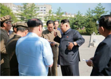 150904 - RS - KIM JONG UN - Marschall KIM JONG UN besuchte das Messgerätewerk Sinuiju - 03 - 경애하는 김정은동지께서 신의주측정계기공장을 현지지도하시였다