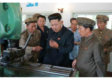 150904 - RS - KIM JONG UN - Marschall KIM JONG UN besuchte das Messgerätewerk Sinuiju - 05 - 경애하는 김정은동지께서 신의주측정계기공장을 현지지도하시였다