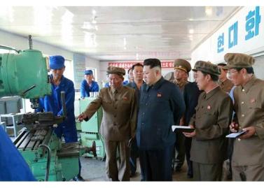 150904 - RS - KIM JONG UN - Marschall KIM JONG UN besuchte das Messgerätewerk Sinuiju - 06 - 경애하는 김정은동지께서 신의주측정계기공장을 현지지도하시였다
