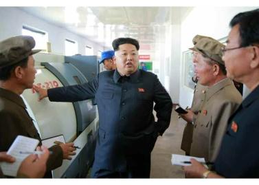 150904 - RS - KIM JONG UN - Marschall KIM JONG UN besuchte das Messgerätewerk Sinuiju - 07 - 경애하는 김정은동지께서 신의주측정계기공장을 현지지도하시였다
