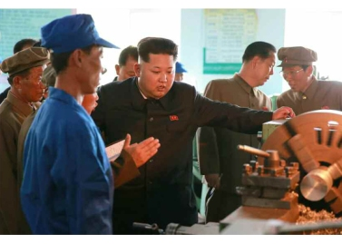 150904 - RS - KIM JONG UN - Marschall KIM JONG UN besuchte das Messgerätewerk Sinuiju - 09 - 경애하는 김정은동지께서 신의주측정계기공장을 현지지도하시였다