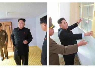 150914 - RS - KIM JONG UN - Marschall KIM JONG UN besuchte die Baustelle des Kraftwerkes der Heroischen Paektusan-Jugend, das vor der Einweihung steht - 23 - 경애하는 김정은동지께서 완공을 앞둔 백두산영웅청년발전소 건설장을 현지지도하시였다