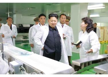 151001 - RS - KIM JONG UN - Marschall KIM JONG UN besichtigte das Pharmakombinat Jongsong - 06 - 경애하는 김정은동지께서 정성제약종합공장을 현지지도하시였다
