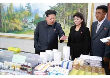 151001 - RS - KIM JONG UN - Marschall KIM JONG UN besichtigte das Pharmakombinat Jongsong - 09 - 경애하는 김정은동지께서 정성제약종합공장을 현지지도하시였다