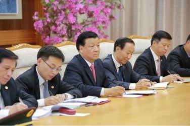 151010 - SK - KIM JONG UN - Marschall KIM JONG UN empfing die Delegation der KP Chinas zu einem Gespräch - 02