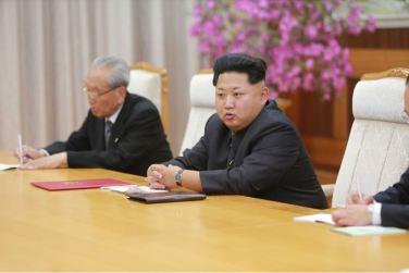 151010 - SK - KIM JONG UN - Marschall KIM JONG UN empfing die Delegation der KP Chinas zu einem Gespräch - 03