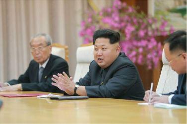 151010 - SK - KIM JONG UN - Marschall KIM JONG UN empfing die Delegation der KP Chinas zu einem Gespräch - 05