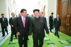 151010 - SK - KIM JONG UN - Marschall KIM JONG UN empfing die Delegation der KP Chinas zu einem Gespräch - 07