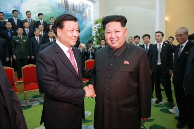 151010 - SK - KIM JONG UN - Marschall KIM JONG UN empfing die Delegation der KP Chinas zu einem Gespräch - 08