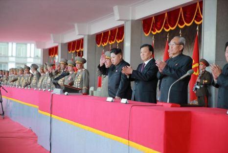 151011 - SK - KIM JONG UN - Parade und Massenkundgebung zum 70. Gründungstag der PdAK in Anwesenheit von Genossen KIM JONG UN - 10